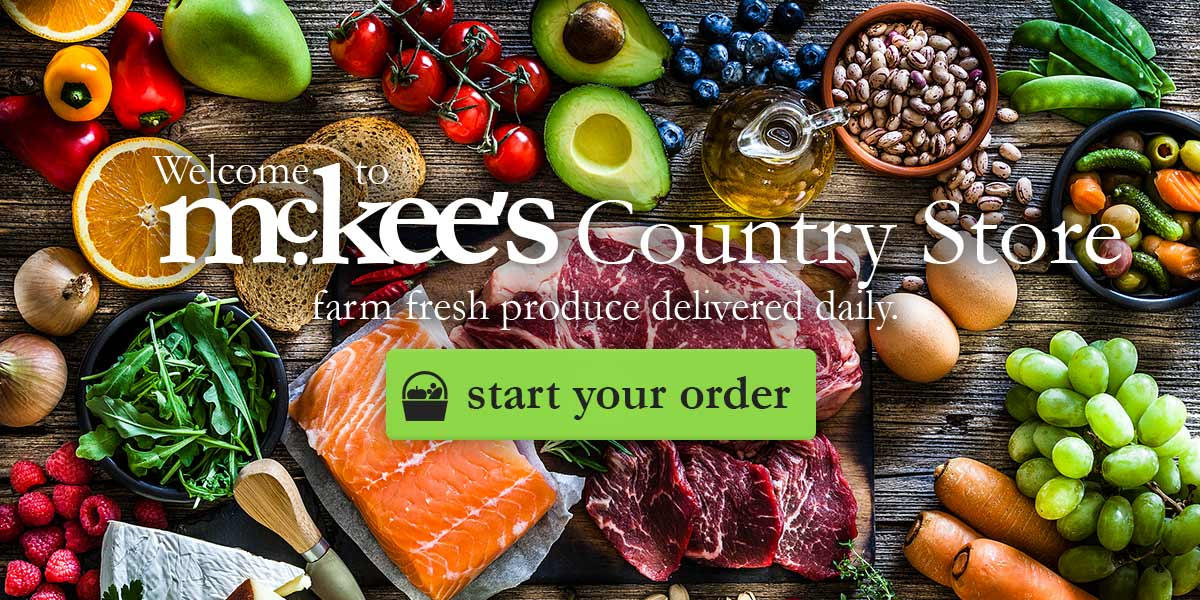 McKee's Country Store & Restaurant. Farm fresh home delivery service in Belfast & North Down