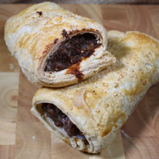 picture of pork and black pudding sausage roll