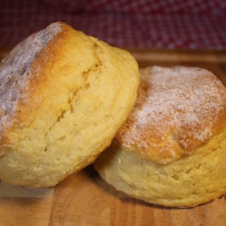 picture of plain scone